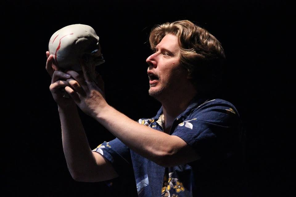 Gary Busey one-man Hamlet as performed by David Carl