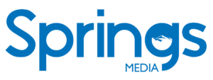 Springs Media Blue Logo