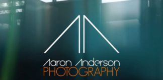 aaron anderson video of elizabeth marks photo shoot for springs