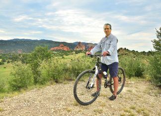 Jim Heidelberg has recovered from his mountain bike accident.