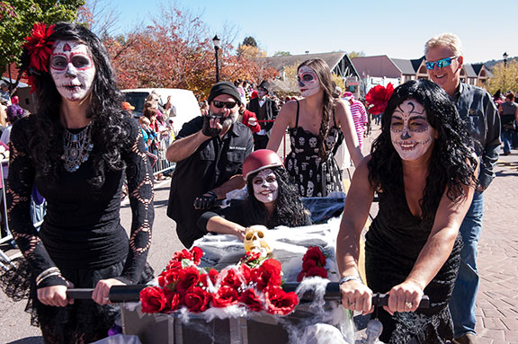 The Manitou Springs Emma Crawford Coffin Races.