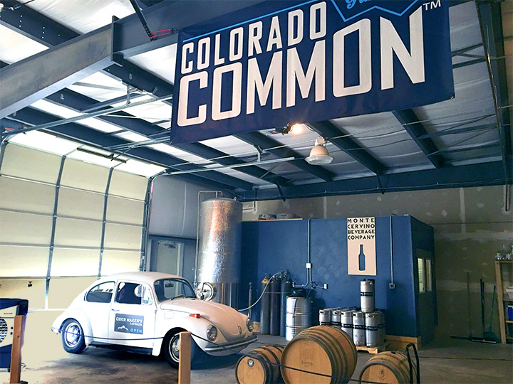 Inside Colorado Commons taproom.