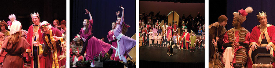 holiday dancers in amahl and the night visitor