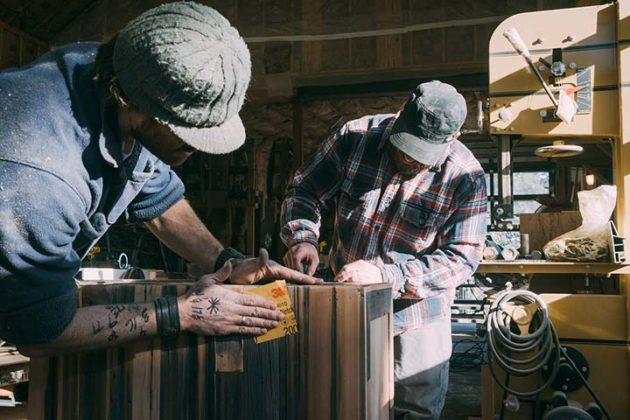 Josh Mabe reclaims and recreates the wood you didn't know you needed