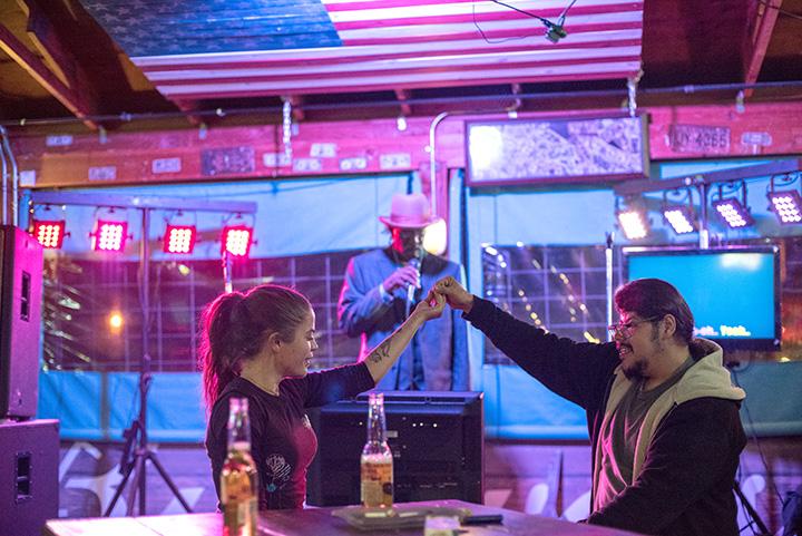 Cheers to karaoke