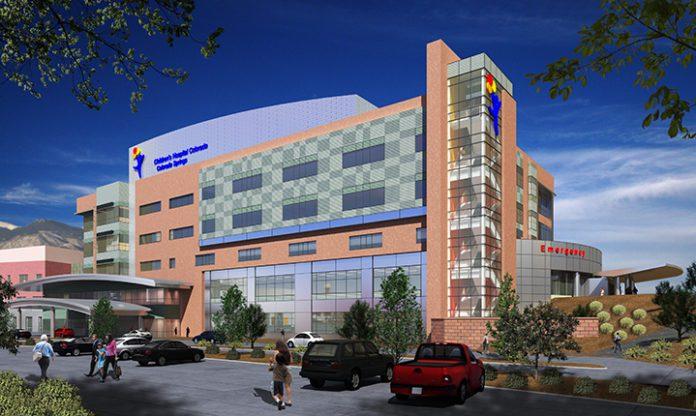children's hospital rendering