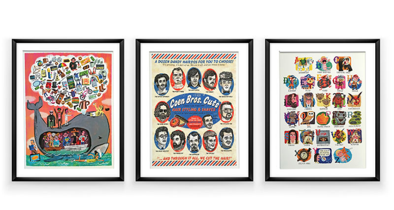 Illustrations posters by Luke Flowers