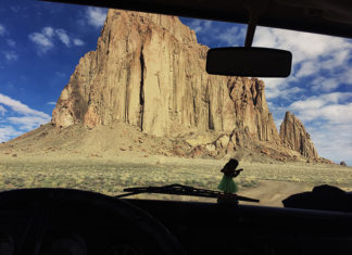 road trip shiprock