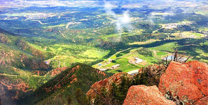 view from blodgett peak hike
