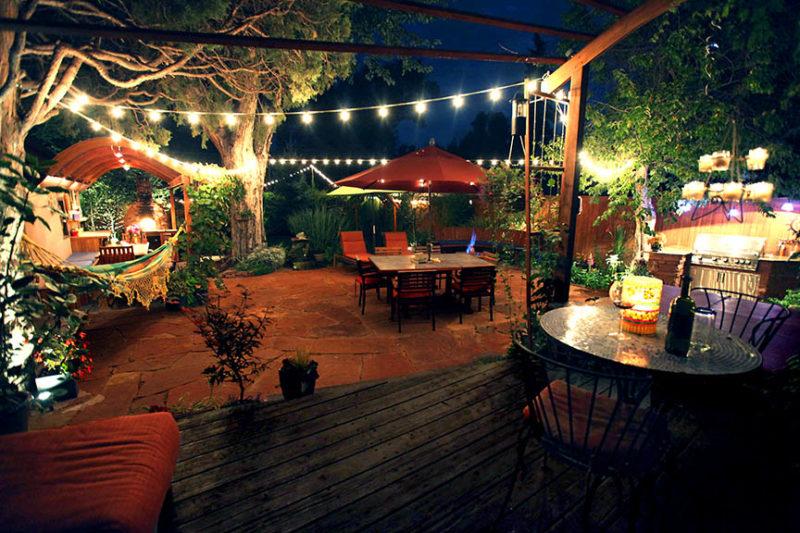 backyard design for entertaining