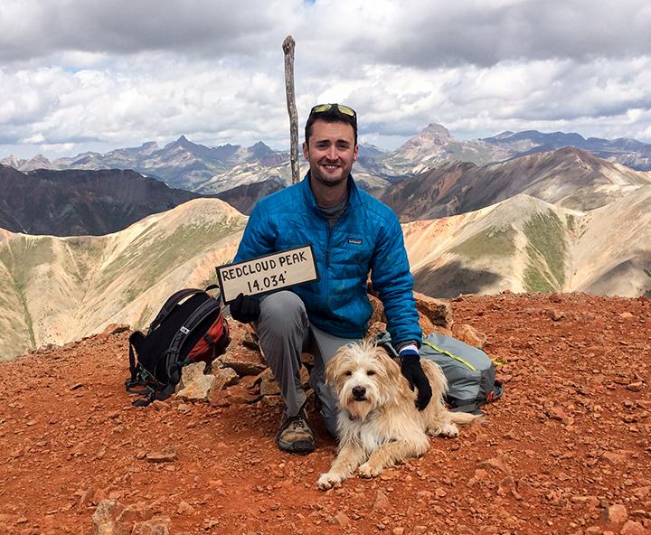 explore with ollie on redcloud peak