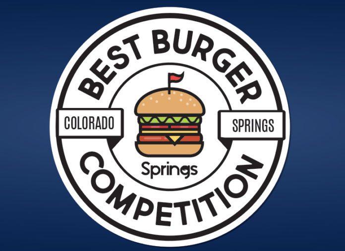 springs best burger contest logo