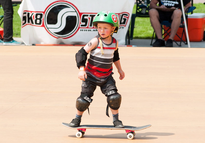 skateboarding at rocky mountain state games
