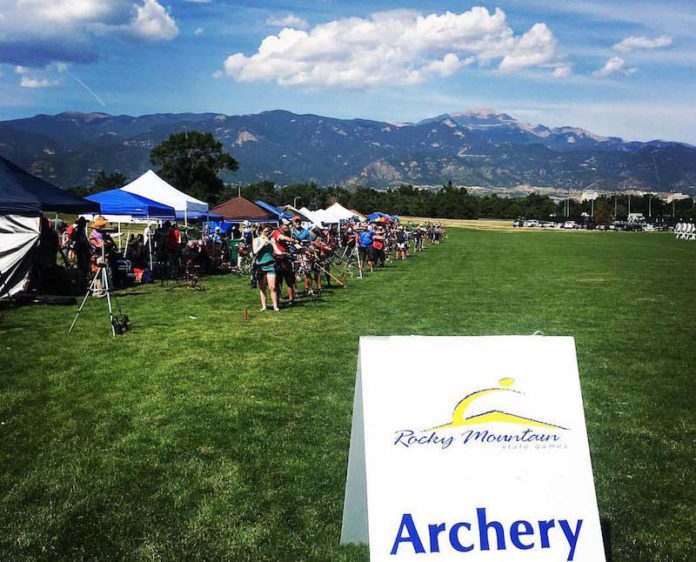 archery at rocky mountain state games