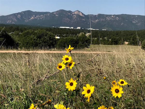 flowers and santa fe trail air force academy