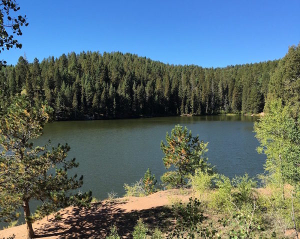 stanley reservoir above air force academy