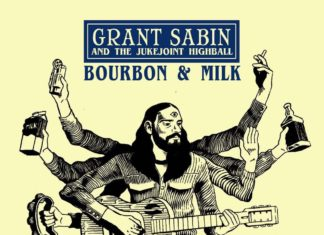 new music Grant Sabin, Bourbon and Milk album cover