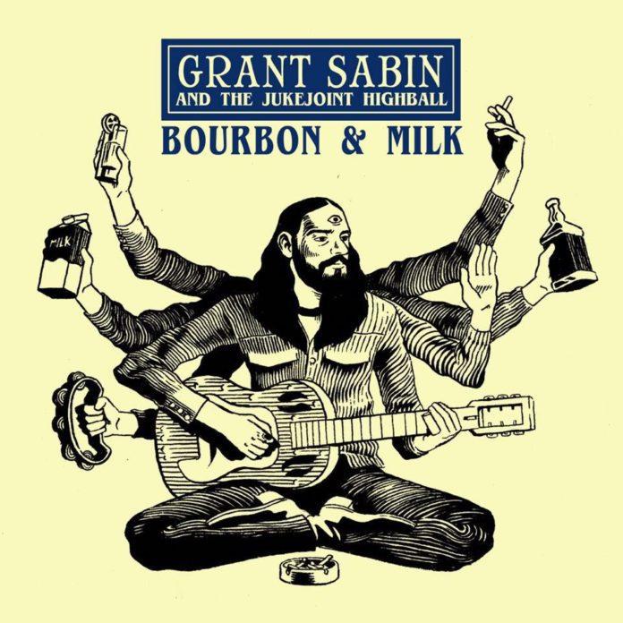 new music Grant Sabin, Bourbon and Milk album cover