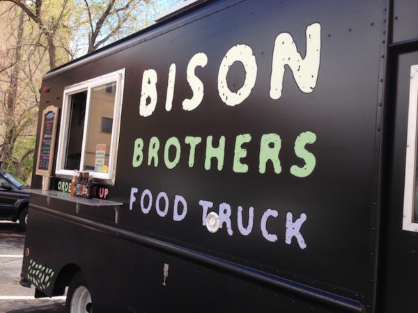bison brothers food truck