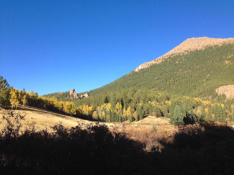 fall color hikes pancake rocks meadow