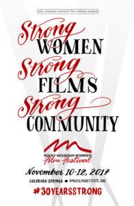 Rocky Mountain Women's Film Festival Poster