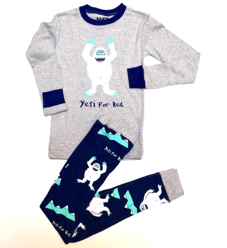 gifts kids yeti pajamas