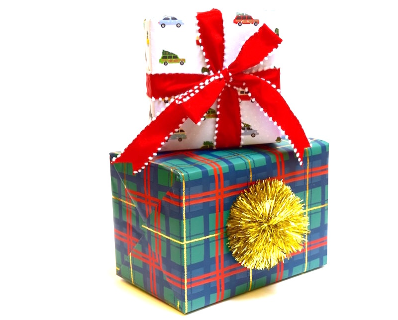 gifts wrapped packages