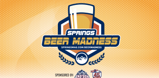 springs beer madness logo