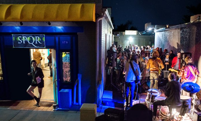 First Friday at S.P.Q.R. and Arts Alley
