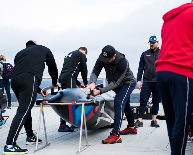 olympic bobsled prep