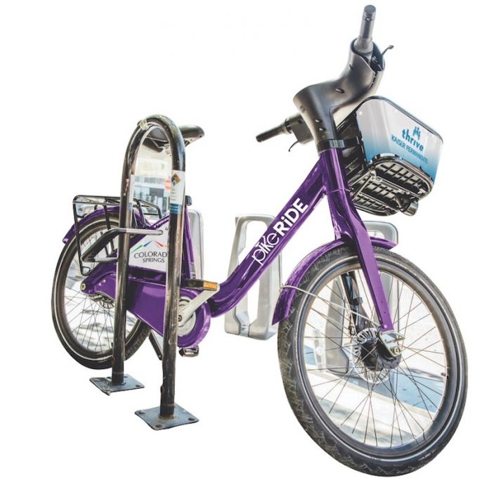 purple pikeride bike