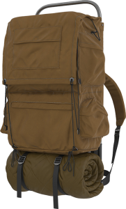 mountain chalet gear old backpack