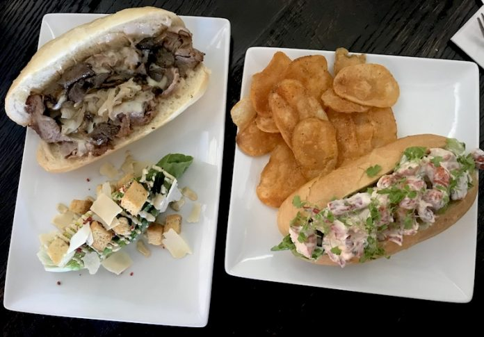 sanwiches from Atmosphere Gastropub, new restaurants