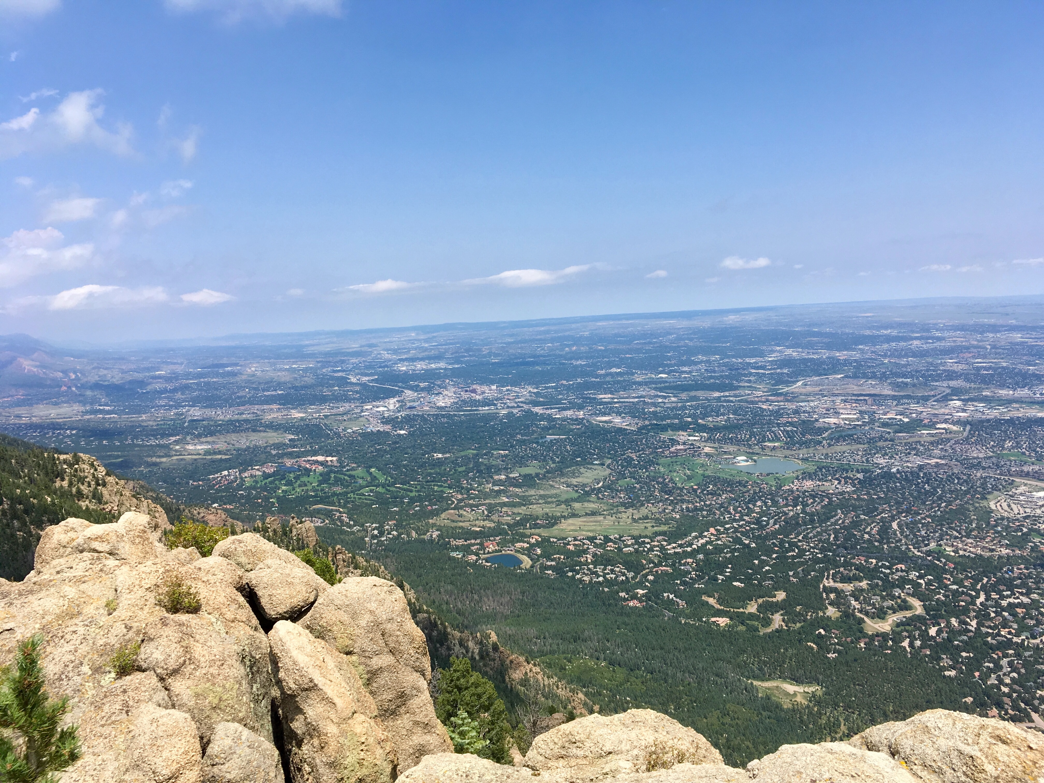 view from Cheyenne Mountain