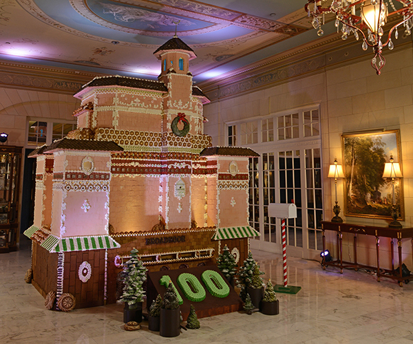 holidays at the broadmoor gingerbread house