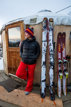 Snapshots of the yurt lifestyle: You do need someone with some backcountry experience on a yurt trip, and thankfully we were all good skiers - so I thought.