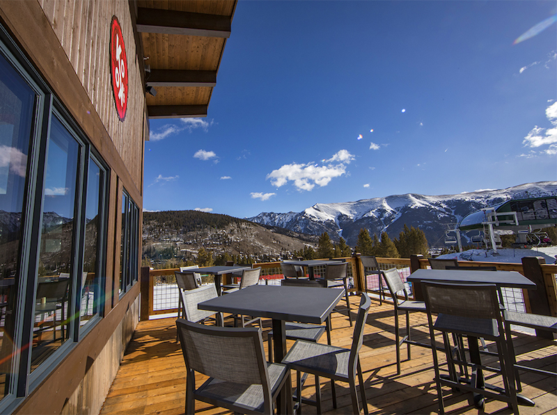 eat and drink at Kokos Hut at Copper Mountain