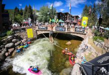 festival fun at GoPro mountain games vail