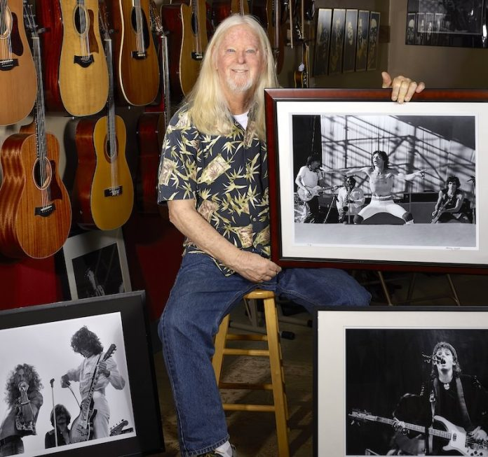 Larry Hulst, rock photographer