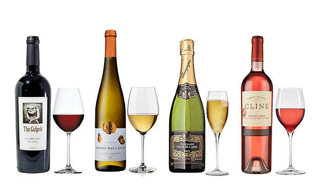 A lineup of the best summer wines.