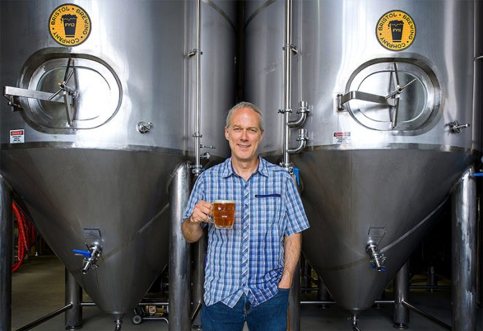Mike Bristol of Bristol Brewing