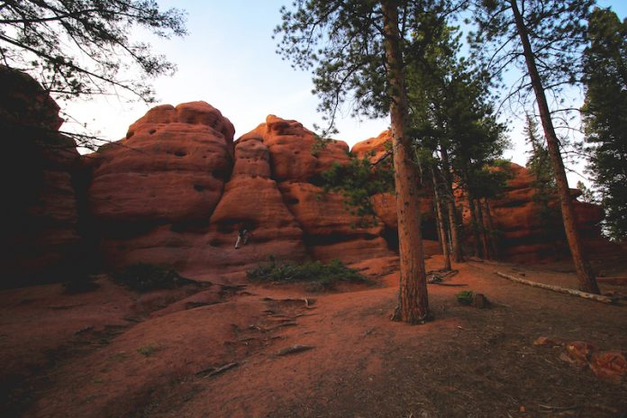 Red Rocks in Woodland Park is another king of geological gem in Colorado