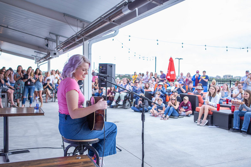 Free summer concert on the patio at Boot Barn Hall in north Colorado Springs