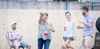 Bocce at Axe and the Oak Whiskey House