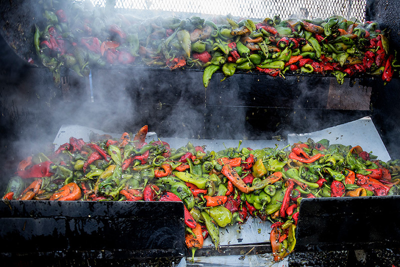 Chiles at pueblo chile and frijoles festival