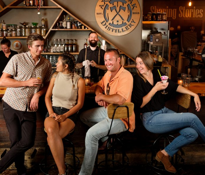 Axe and the Oak whiskey house on the Colorado Spirits Trail