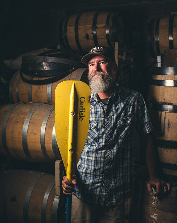 P.T. Wood at Wood's High Mountain Distillery on the Colorado Spirits Trail