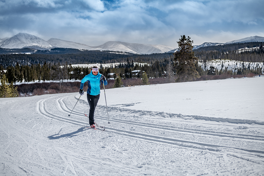 Gift experiences cross-country skiing and spa getaway at Devil's Thumb Ranch in Tabernash