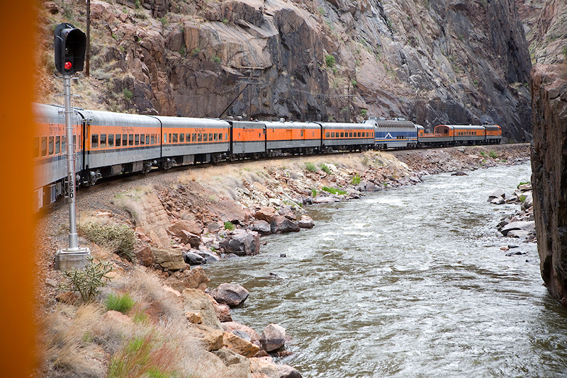 Gift experiences train ride on the Royal Gorge Railroad
