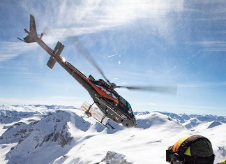 Gift experiences heli-skiing with Helitrax Telluride